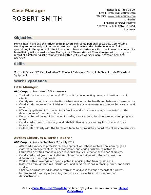 case manager resume samples qwikresume management experience pdf event specialist create Resume Case Management Experience Resume