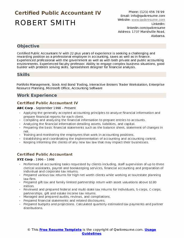 certified public accountant resume samples qwikresume government pdf entry level Resume Government Accountant Resume