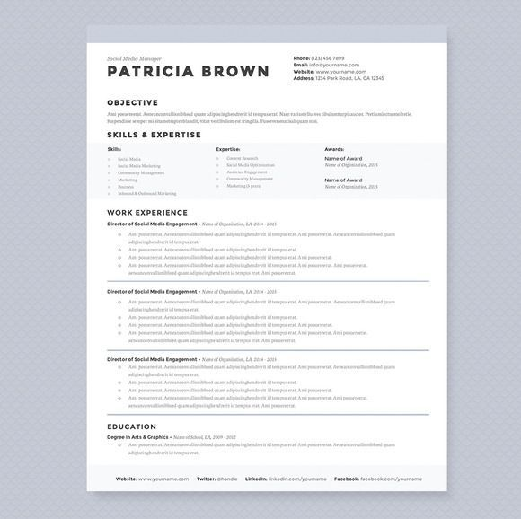 check out clean by jannalynncreative on resume template professional mechanic supervisor Resume Clean Professional Resume Template