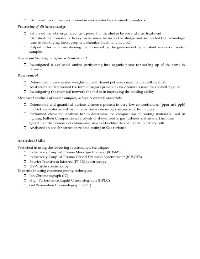 chemistry faculty resume lecturer for teacher job simple format experienced professional Resume Chemistry Lecturer Resume