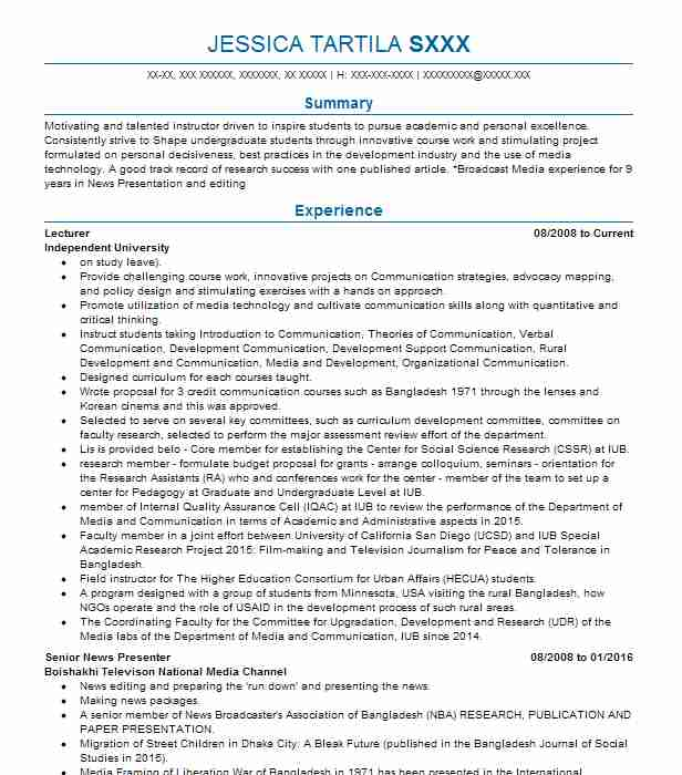 chemistry lecturer resume example ched pawar public school sugar land simple format for Resume Chemistry Lecturer Resume
