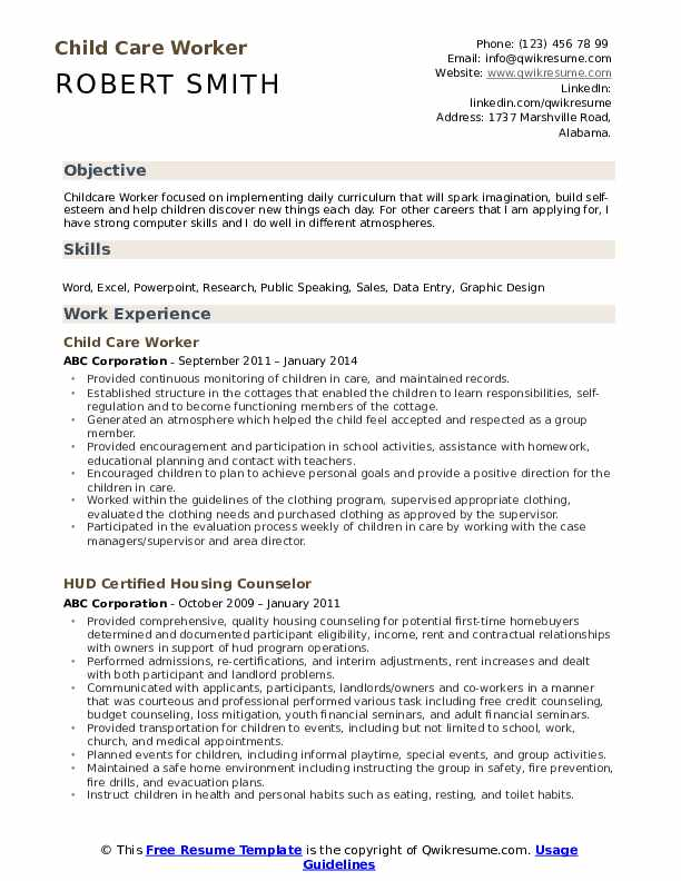 child care worker resume samples qwikresume examples pdf headline sample for teachers Resume Child Care Resume Examples