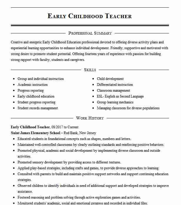childhood teacher resume example teaching resumes template apple genius absolutely free Resume Early Childhood Teacher Resume Template