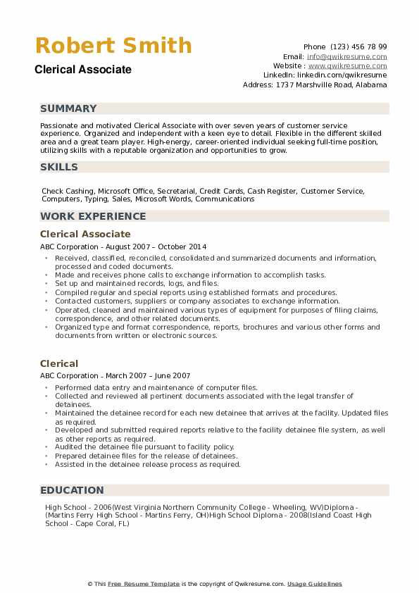 clerical resume samples qwikresume examples pdf automotive test engineer good Resume Clerical Resume Examples