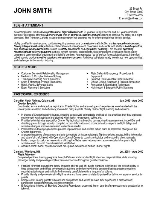 click here to this flight attendant resume template http resumetemplates10 professional Resume Service Attendant Resume