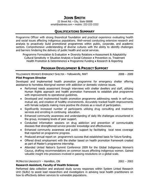 click here to this pilot program director resume template http resumetemplates101 Resume Human Intelligence Collector Resume