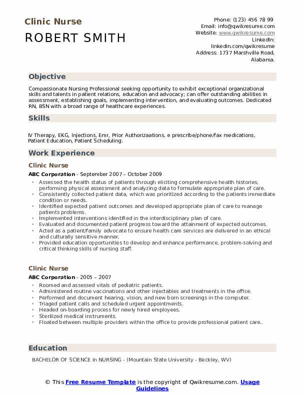 clinic nurse resume samples qwikresume nursing examples with clinical experience pdf red Resume Nursing Resume Examples With Clinical Experience