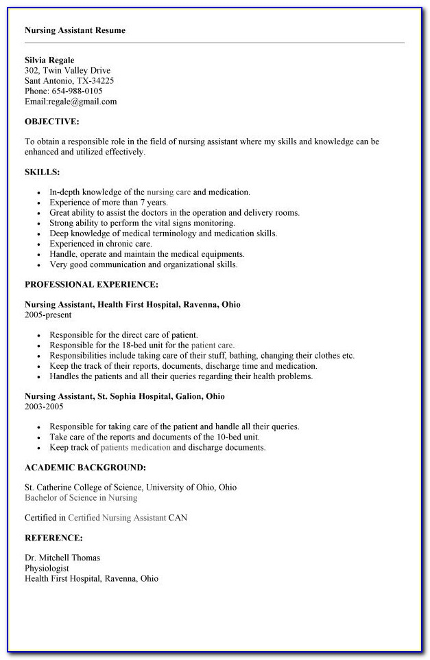cna resume with no experience best business template regarding vincegray2014 sample job Resume Cna Resume Sample No Experience