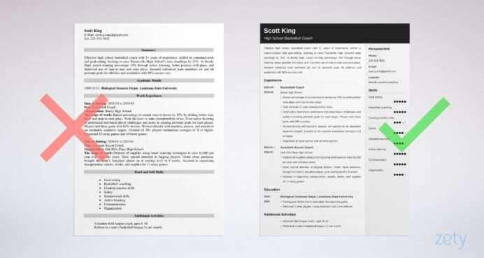 coaching resume samples also for high school coach jobs template job example data science Resume Resume Template For Coaching Job