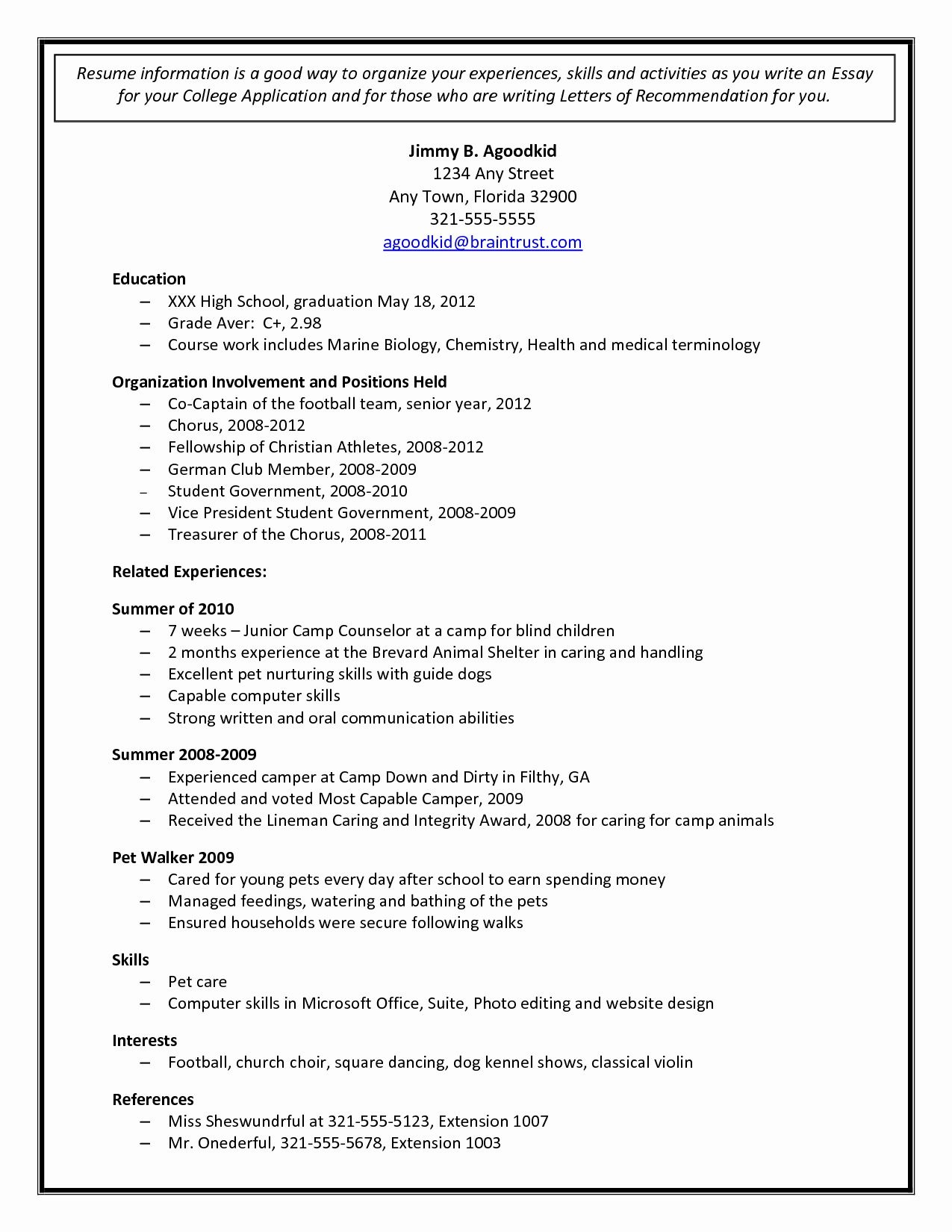 college admission resume templates addictionary student for application staggering Resume Student Resume For College Application