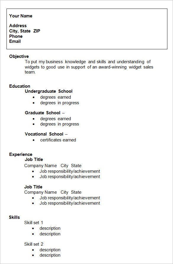 college resume template sample examples free premium templates good for students graduate Resume Good Resume Templates For College Students
