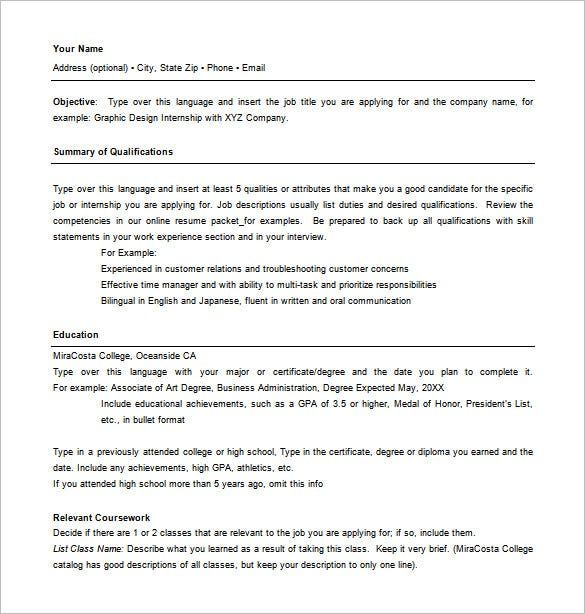combination resume template free word excel pdf format premium templates sample cover Resume Combination Resume Sample