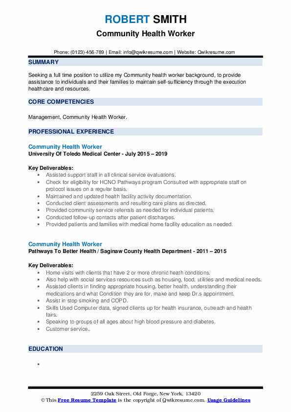 community health worker resume samples qwikresume for healthcare pdf siebel administrator Resume Resume For Healthcare Worker