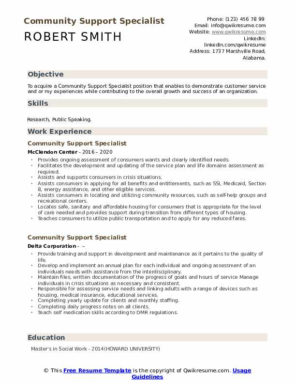 community support specialist resume samples qwikresume pdf for grad student catering Resume Community Support Specialist Resume