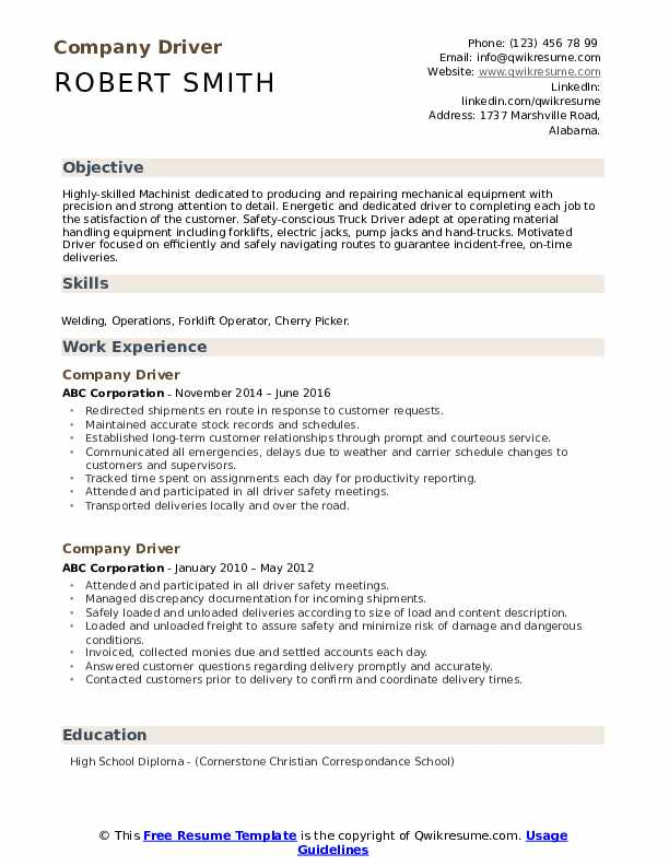 company driver resume samples qwikresume truck sample pdf writing for lawyers care worker Resume Truck Driver Resume Sample Doc