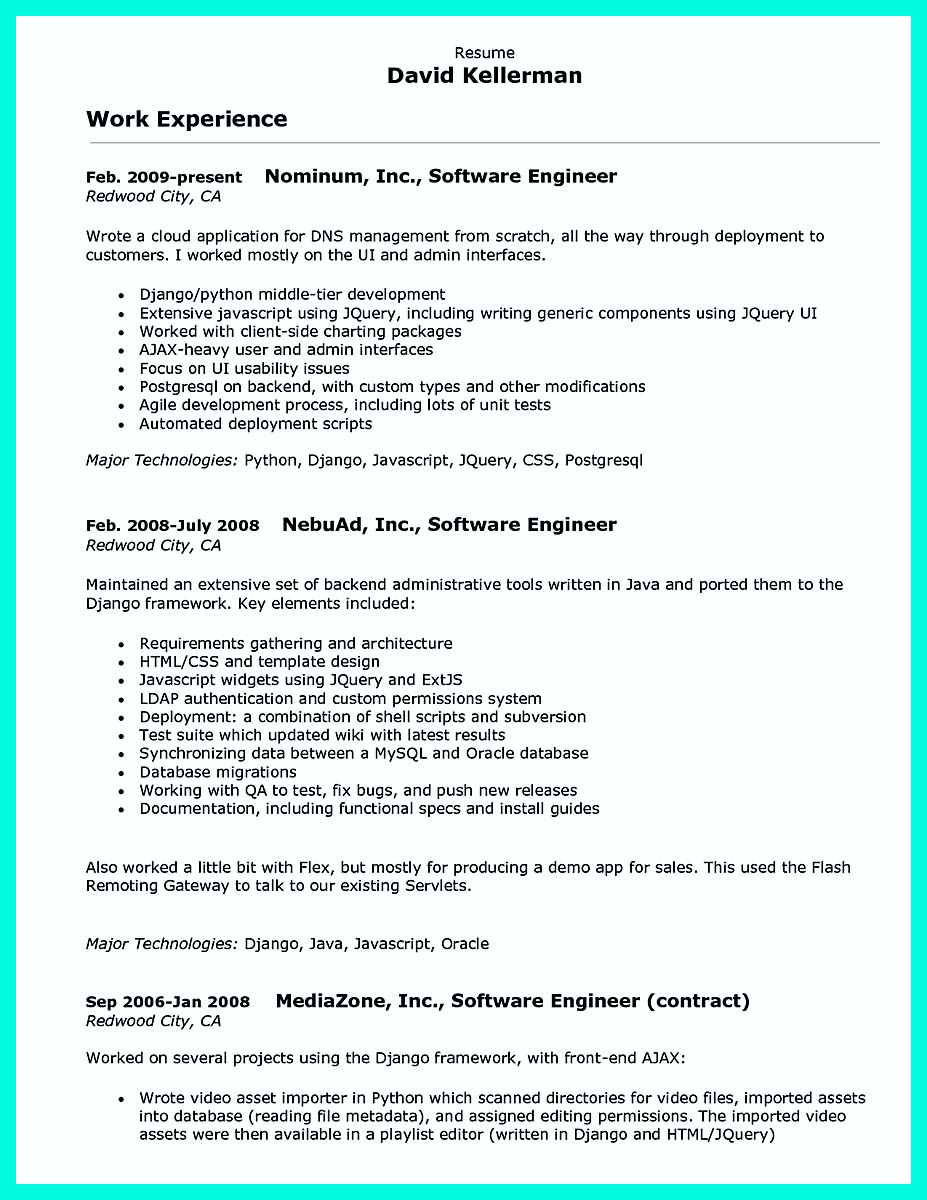 computer programmer resume examples to impress employers template writing for lawyers Resume Computer Programmer Resume Template
