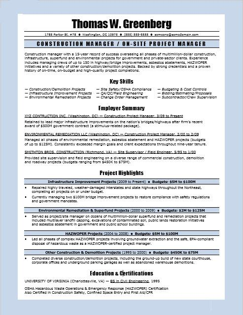 construction manager resume sample monster project regional first time objective samples Resume Construction Project Manager Resume