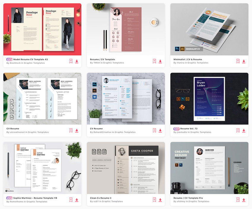 cool colorful resume cv templates to stand out creatively in layouts that career Resume Resume Layouts That Stand Out