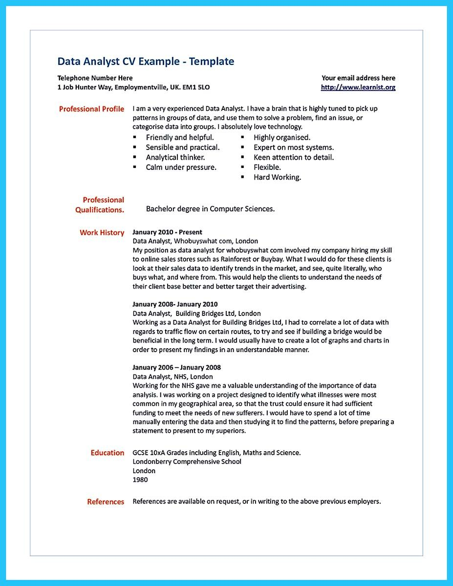 cool high quality data analyst resume sample from professionals examples summary for Resume Data Analyst Summary For Resume