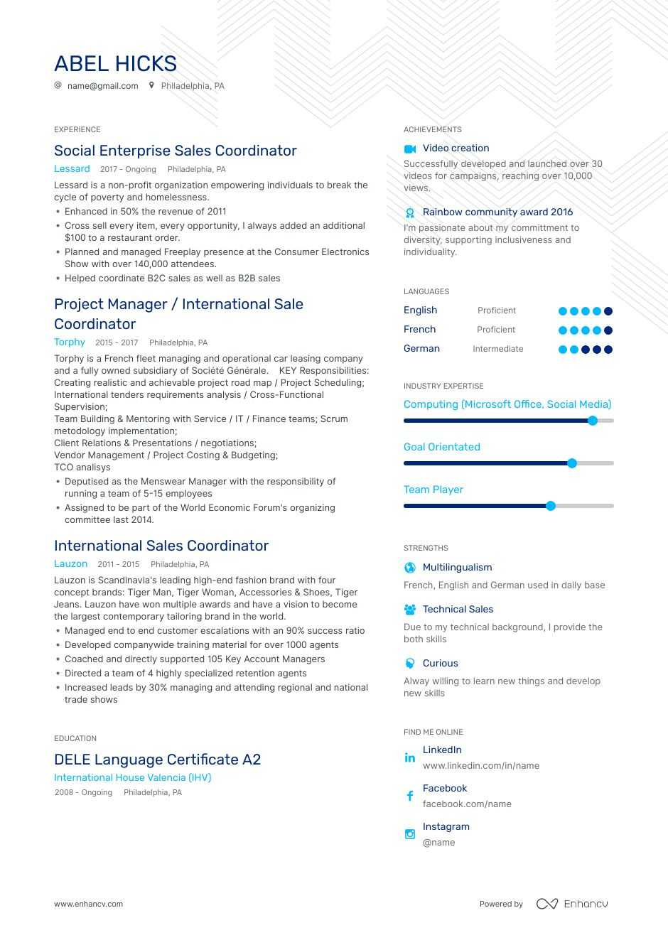 coordinator resume examples do and don ts for enhancv leasing microsoft office knowledge Resume Leasing Coordinator Resume