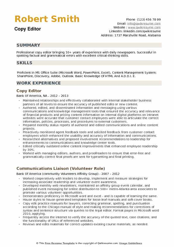 copy editor resume samples qwikresume resumes for writers and editors pdf civil project Resume Resumes For Writers And Editors