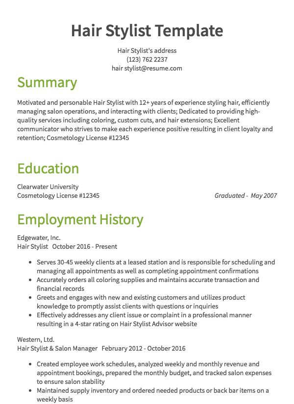cosmetology resume samples all experience levels skills for general health beauty example Resume Cosmetology Skills For Resume