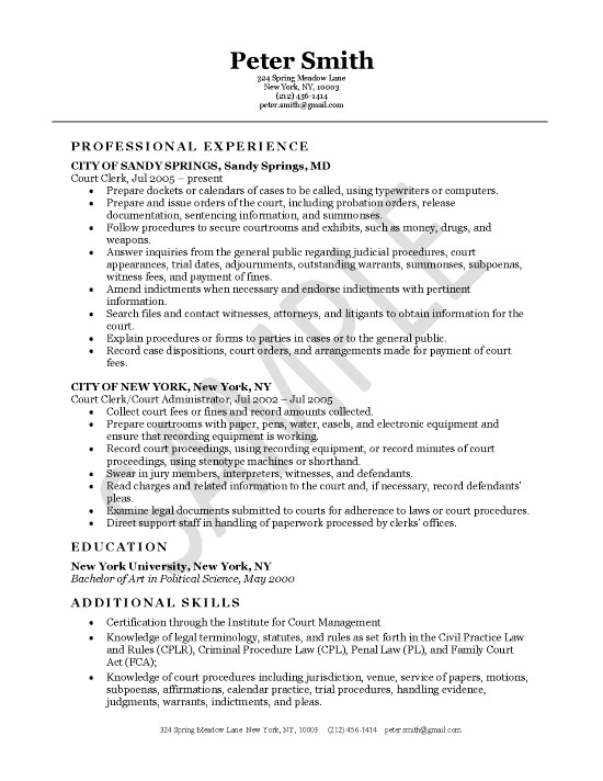 court clerk resume example records management sample exleg10 biochemistry format cna job Resume Records Management Clerk Resume Sample