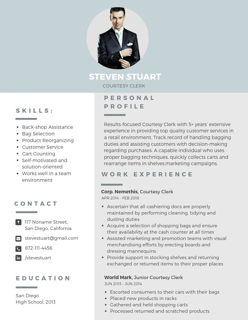 courtesy clerk resume sample about blog writing duties professional social work examples Resume Courtesy Clerk Duties Resume