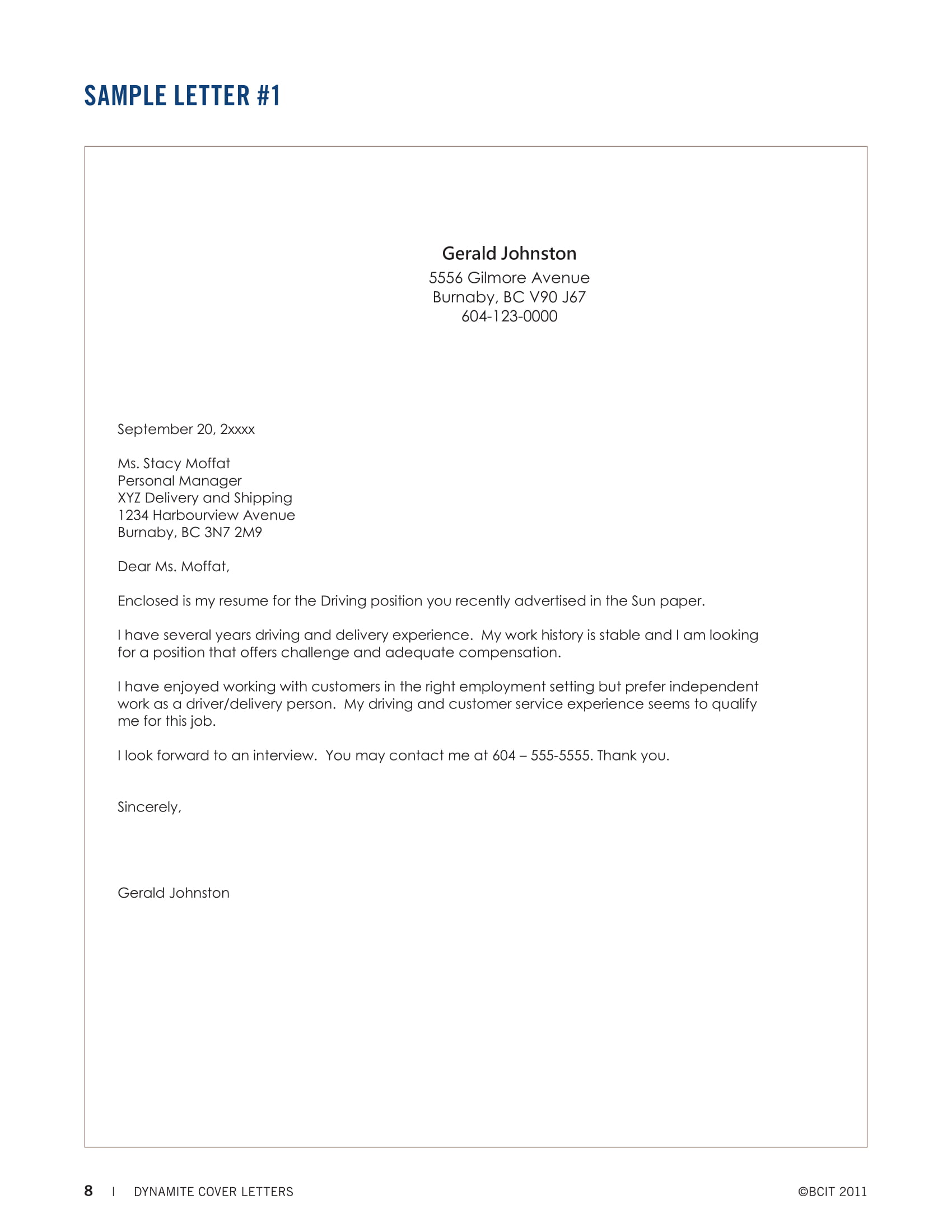 cover letter examples pdf simple resume letters generic objective finance executive Resume Simple Resume Cover Letter Examples