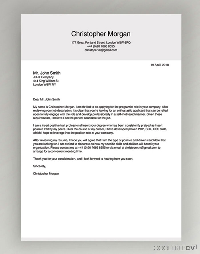 cover letter maker creator template samples to pdf for resume targeted sample hcc coder Resume Cover Page For Resume
