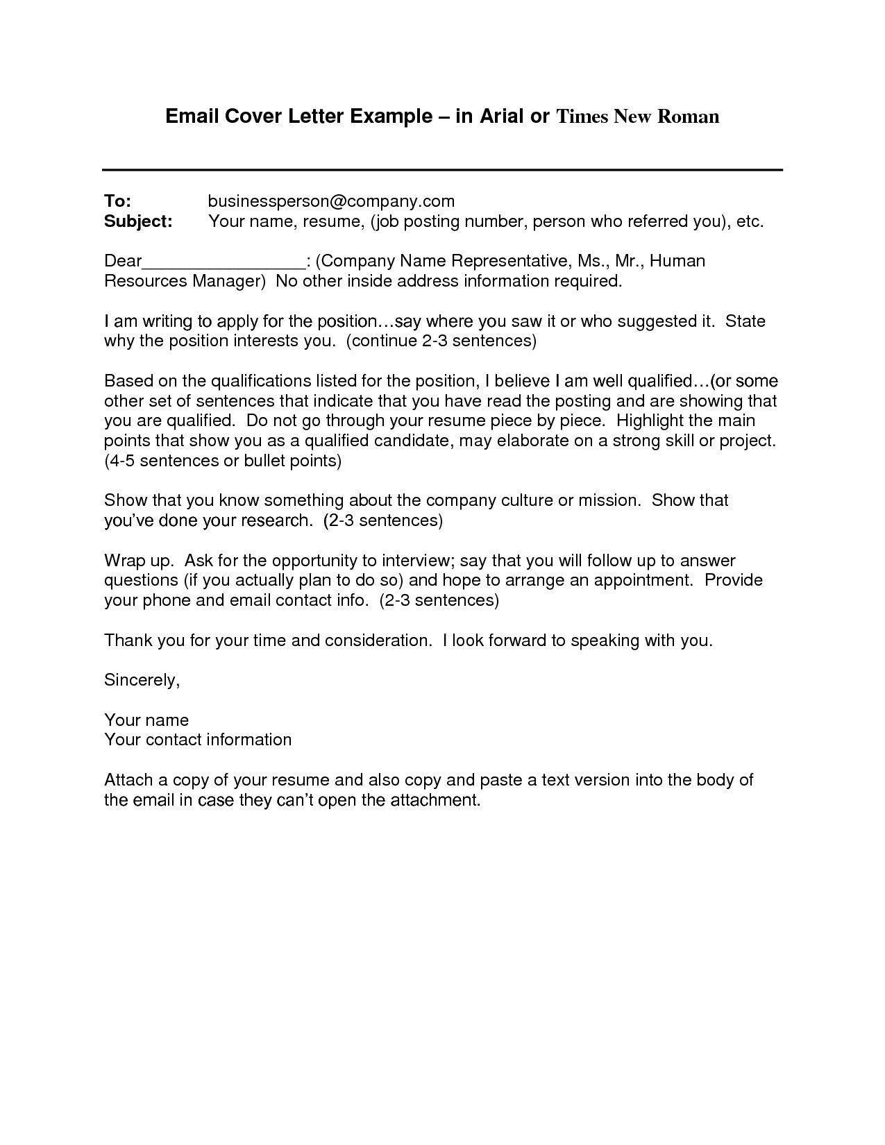 cover letter template via email resume format job for school clerk current startup on Resume Resume Cover Letter Via Email