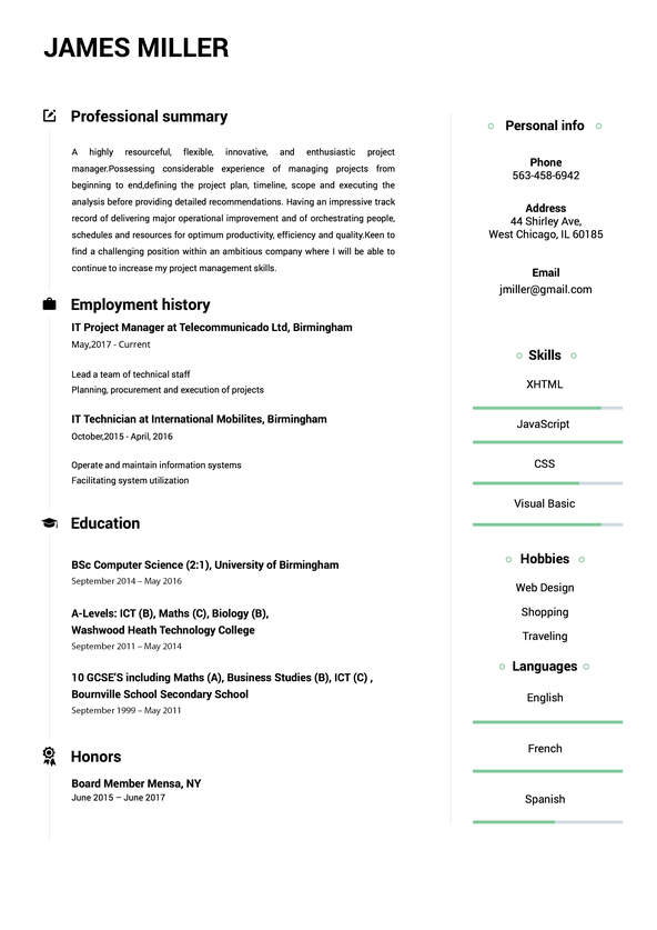create perfect resume in minutes builder building from scratch carousel cv5 food service Resume Building A Resume From Scratch
