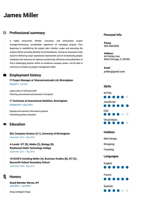 create perfect resume in minutes builder building from scratch carousel cv9 linear Resume Building A Resume From Scratch
