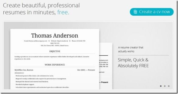 create professional for with cv maker arts and designs free resume builder quick creator Resume Quick Free Resume Creator