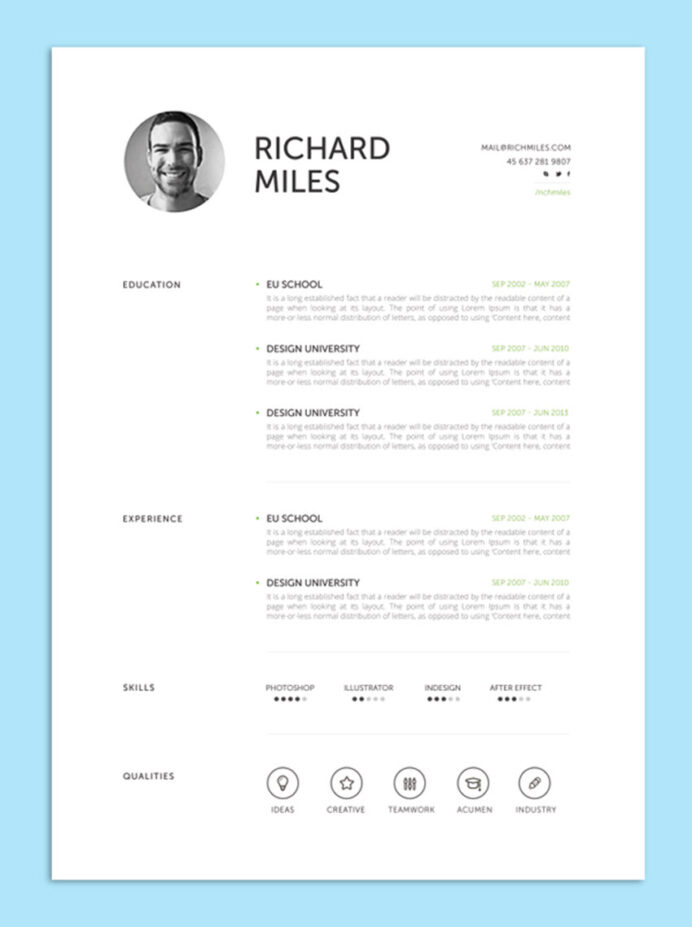 creative resume cv design tips for with profile structure military veteran examples Resume Creative Resume Profile