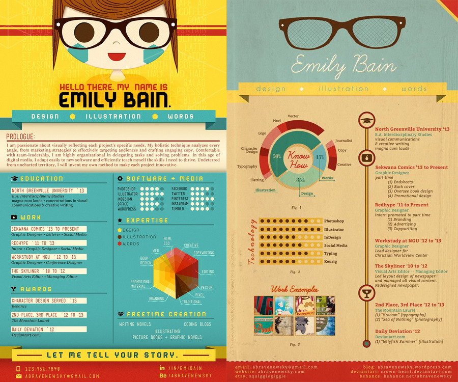 creative resume examples for enhancv layouts that stand out and profile sap fico fresher Resume Resume Layouts That Stand Out