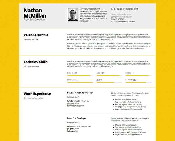 creative resume ideas to stand out in layouts that bold responsive template cv job cover Resume Resume Layouts That Stand Out