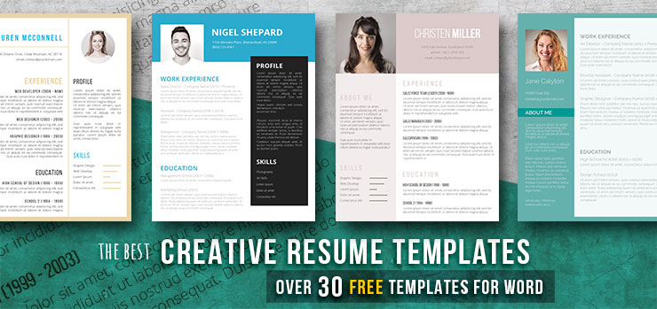creative resume templates get the job you deserve freesumes eye catching free new grad rn Resume Eye Catching Resume Templates Free