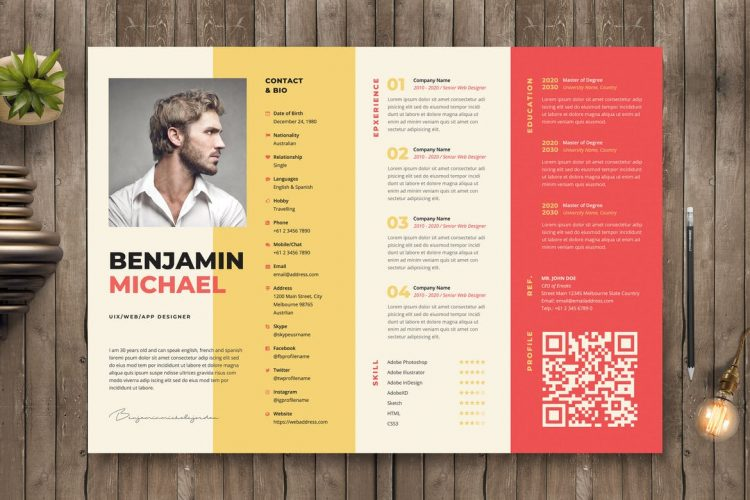 creative resume templates with unique designs theme eye catching free 750x500 macbook Resume Eye Catching Resume Templates Free