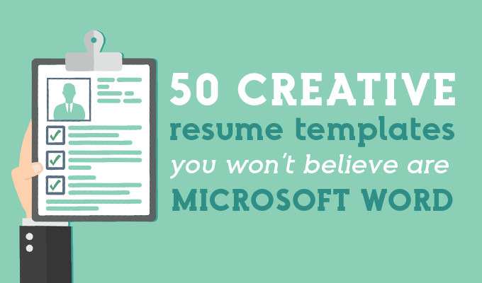 creative resume templates you won believe are microsoft word market blog for with photo Resume Resume Templates For Microsoft Word With Photo