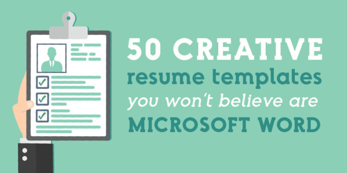 creative resume templates you won believe are microsoft word market blog format for Resume Microsoft Word 07 Resume Templates