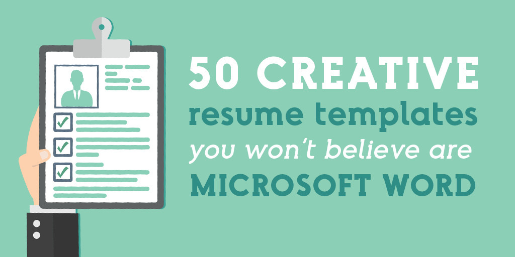 creative resume templates you won believe are microsoft word market blog pretty plant Resume Pretty Resume Templates
