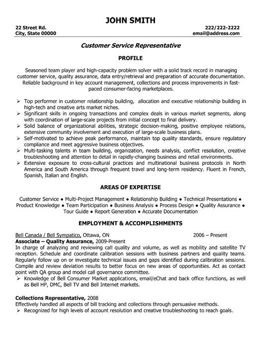 customer service representative resume template want it job samples examples for Resume Resume Template For Customer Service Associate