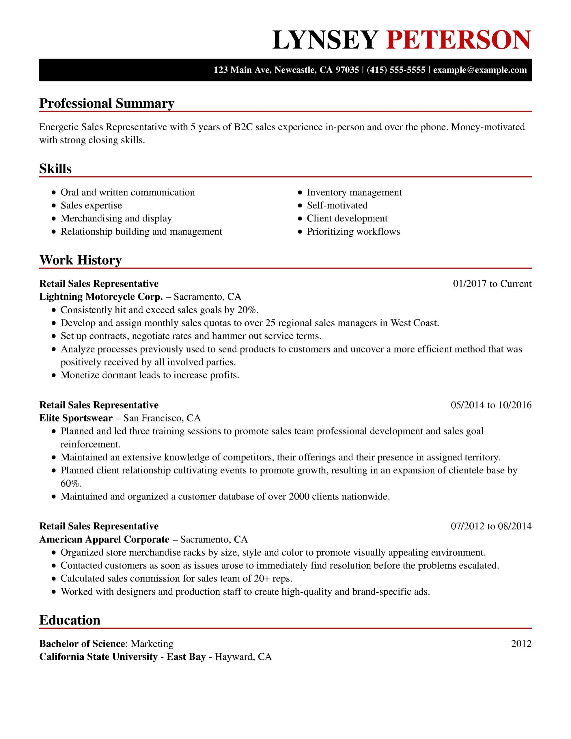 customer service resume examples professional good skills title for senior network Resume Resume Title For Customer Service