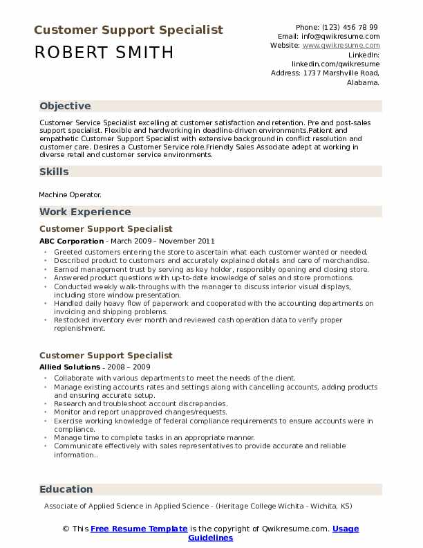 customer support specialist resume samples qwikresume service pdf leather portfolio case Resume Customer Service Specialist Resume