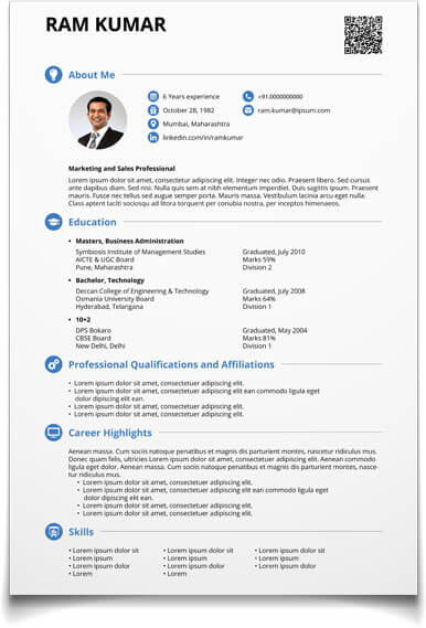 cv maker create free visual now make resume and good profile statements for highlights of Resume Make Free Resume And Download