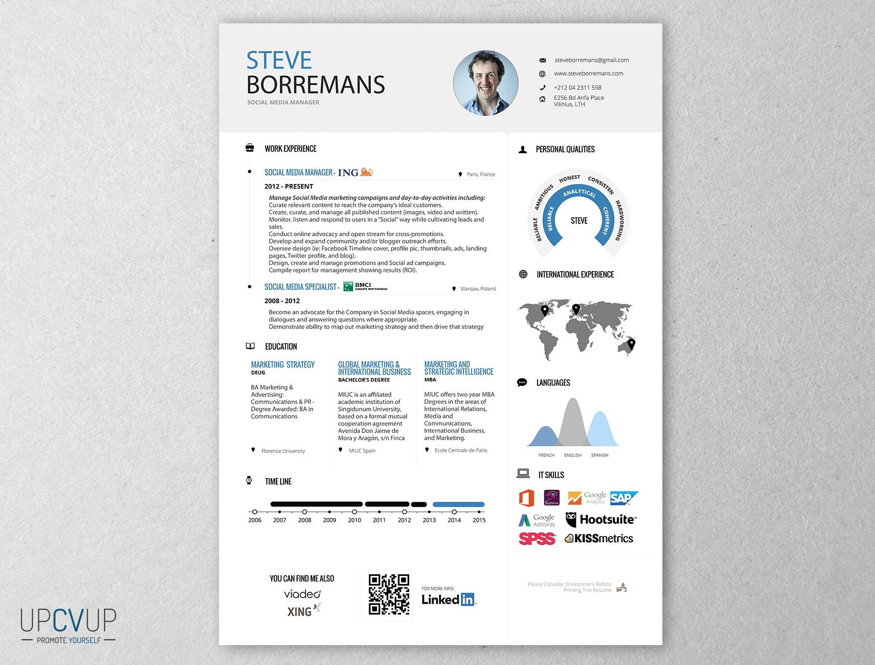 cv social media manager upcvup resume responsibilities template for promotion within Resume Social Media Manager Responsibilities Resume