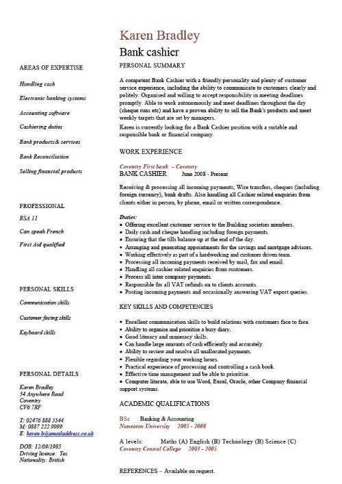 cv template resume examples sample templates of good business degree example lvn case Resume Examples Of Good Resume Templates