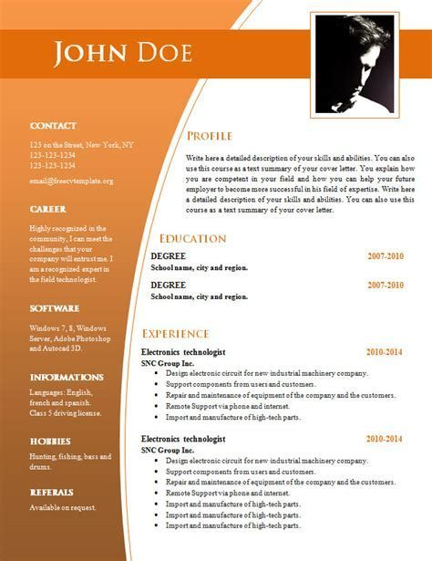 cv templates for word free template resume downloadable company non profit ceo sample Resume Company Resume Template Word