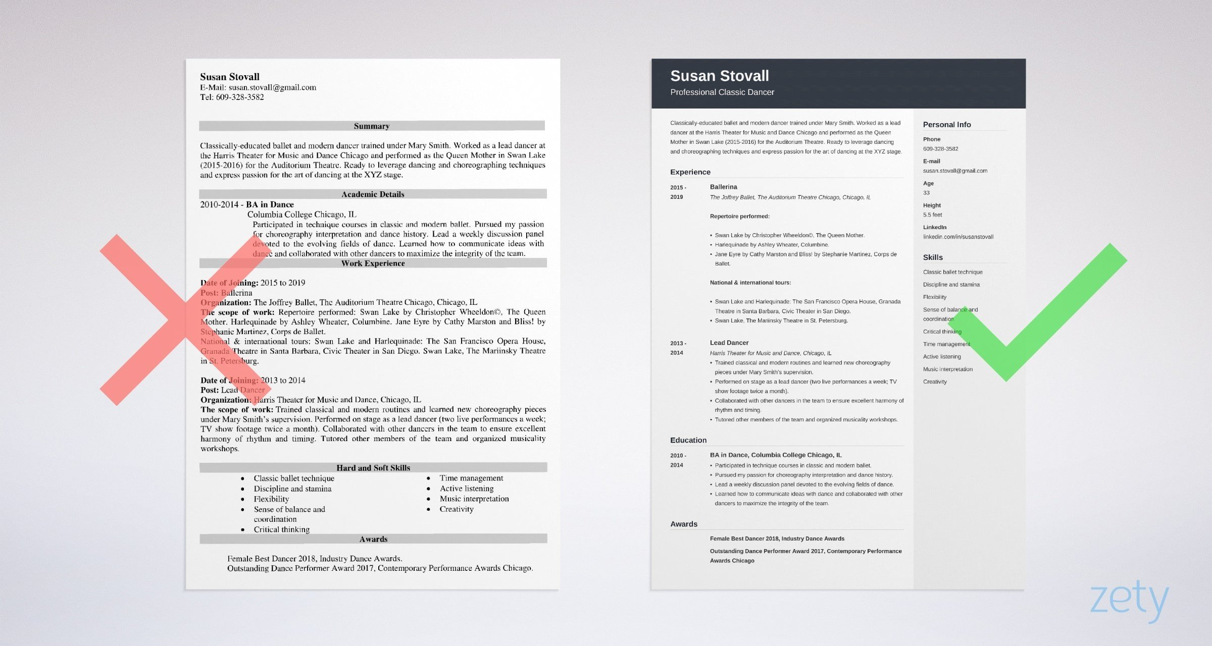 dance resume template professional examples guide for college example owl area of Resume Dance Resume For College